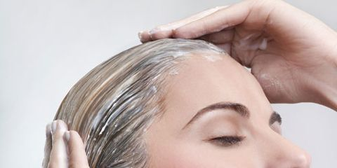 hair wigs care with shampoo