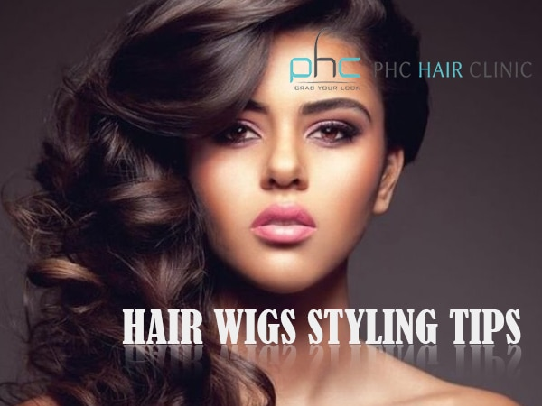 hair wigs styling tips