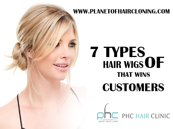 hair wigs types
